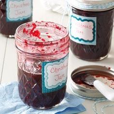 Homemade Christmas Jam - A few years ago, I hit upon the idea of presenting family and friends with baskets of homemade jam as gifts. With cherries, cinnamon and cloves, this smells and tastes like Christmas!—Marilyn Reineman, Stocton, California