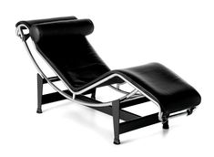 Cassina LC4 Chaiselongue von Le Corbusier, Pierre Jeanneret, Charlotte Perriand, 1928 - Designermöbel von smow.de