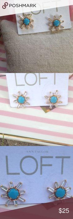 Ann Taylor Loft Earrings Gorgeous starburst earrings! Matching necklace in a separate listing. LOFT Jewelry Earrings