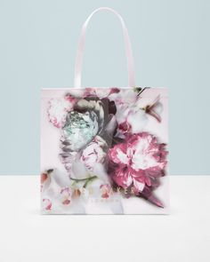 Ethereal Posie large shopper bag - Nude Pink | Bags | Ted Baker UK