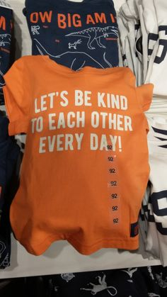 New kind of slogan in boys' t-shirt