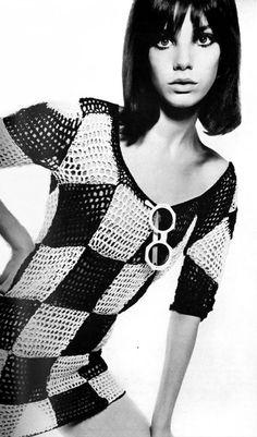 pinterest.com/fra411 #60's - Jane Birkin, photo David Bailey 1965