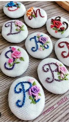 This picture is worth all the hard work Embroidery Flowers Pattern, Hand Embroidery Stitches, Silk Ribbon Embroidery, Hand Embroidery Designs, Cross Stitch Embroidery, Embroidery Fashion, Embroidery Jewelry, Embroidery Hoop Art, Embroidery Letters