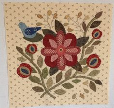 a block from the Caswell quilt