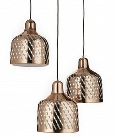 Pendant lamp / contemporary / outdoor / copper TURBINA by Matteo Zorzenoni WayPoint