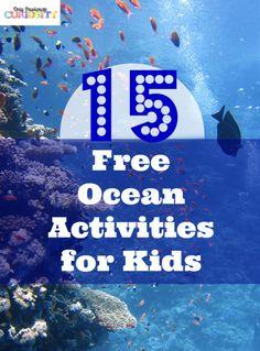 15 Free Ocean Activities for Kids