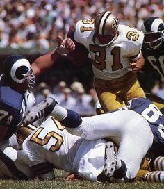 Jim Taylor - New Orleans Saints (1967)