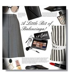 """A Little Bit of Balenciaga! - Contest!"" by sarahguo ❤ liked on Polyvore featuring Balenciaga, Bobbi Brown Cosmetics, Marni, Smashbox and Yves Saint Laurent"