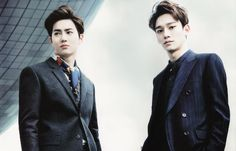 Suho and Chen