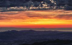 Fata Morgana Mirage Fata Morgana, Sunrise, Clouds, Sky, Celestial, Lifestyle, Nature, Travel, Outdoor