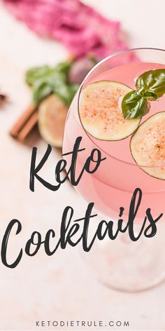 7 Must-Try Keto Cocktails This Summer Keto Diet It's not fun to cut carbs, but these keto cocktails can make up for the loss. If you need keto alcohol cocktail ideas, check out these. Keto Drink, Diet Drinks, Fancy Drinks, Cocktail Drinks, Cocktail Ideas, Cocktail Recipes, Low Carb Cocktails, Easy Cocktails, Diet Recipes