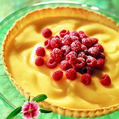Recipe for Raspberry-Lemon Tart