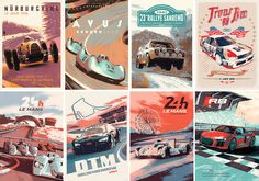 Posters for Audi Sport R8 mailing by Juan Esteban Rodriguez
