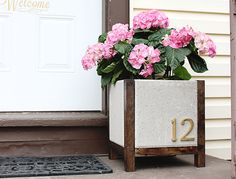 DIY Planter!! So cute and easy to follow steps!