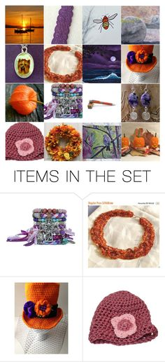 """""""Pumpkin & Plum Finds from ETSY"""" by artbymarionette ❤ liked on Polyvore featuring art, Fall, etsy, plum and pumpkin"""