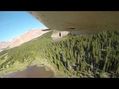 The Colorado Division of Wildlife has a very unconventional way of rapidly restocking remote mountain lakes with fish, they drop them from the air!