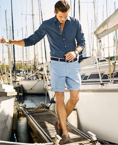 Blue beachside wear Mens Fashion Shorts, Men Shorts Style, Mens Dress  Shorts, Blue 777e12a76f