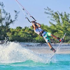 """""""Excellence is not an act but a habit"""" Watch Mark Caferos new video """"Caution"""". The link is where it always is. Photo: @followthewind_thesurferdiary #kitesurfing #kiteboarding by visionkitemag"""