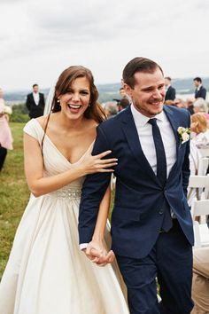 Emotional moment captured by Adam Naples from Jordan and Max's elegant farm wedding