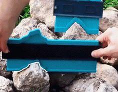Contour Gauge Tool – The Shopolics Woodworking Projects Diy, Woodworking Tools, Wood Projects, Projects To Try, Planchers En Chevrons, Contour, Auto Body Work, Professional Tools, Professional Profile