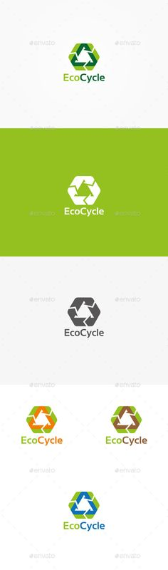 Eco Recycle Logo — Vector EPS #recycling #arrow • Available here → https://graphicriver.net/item/eco-recycle-logo/9920425?ref=pxcr