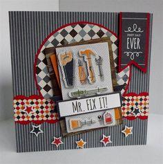 Mr. Fix It Card - Best Dad Ever handmade card