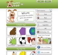 My latest website that houses of games and activities www. Language Activities, Learning Activities, Teaching Ideas, Kindergarten Blogs, Preschool Education, Eyfs Classroom, Primary Classroom, Teacher Sites, Teacher Stuff