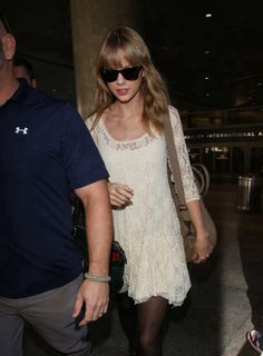 Taylor arriving in Los Angeles, CA 10/22/13