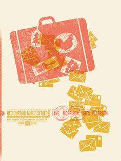 Brianna Lane Gig Poster: poster