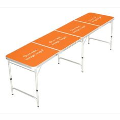 Pong Table Regulation uni Orange