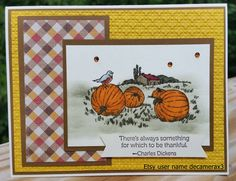 Handmade THANKSGIVING, Fall, Any Occasion Card Kit, STAMPIN' UP Full Of Blessings by decamerax3 on Etsy