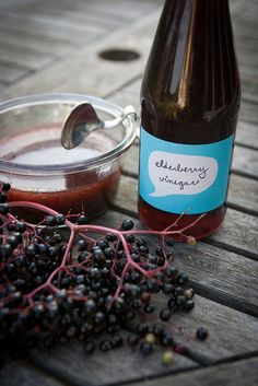 Ideas for Elderberries - How to Make Elderberry Syrup - Great British Chefs