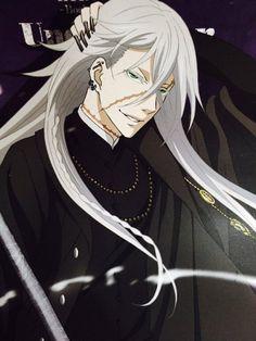 Black Butler Kuroshitsuji Undertaker Cosplay Characters