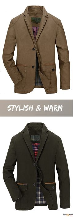 US$53.16 + Free Shipping. Men Jacket, Spring Jacket, Fall Jacket, Cotton Jacket, Blend Casual Jacket, Buttons Jacket, Coat Suit Outwear. US Size: S ~ 3XL. Color: Khaki, Olive. Stylish & Warm, Shop Now! #perfumemasculino #fragrancemen #perfumehombre #perfumes #mejorperfume