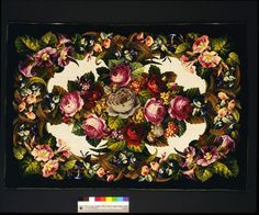 Embroidered panel | V&A:
