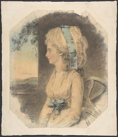 Miss Mary Cruikshank  John Downman  (British (born Wales), Ruabon 1750–1824 Wrexham)  Date: 1781 Medium: Watercolor, charcoal, colored chalks over graphite