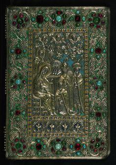 Gospel Book, Original treasure binding, Walters Manuscript W.540, Upper board outside
