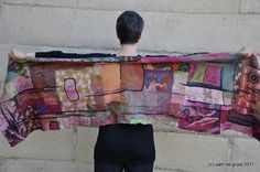 Mosaic wrap | Pam de Groot Fibre | Flickr