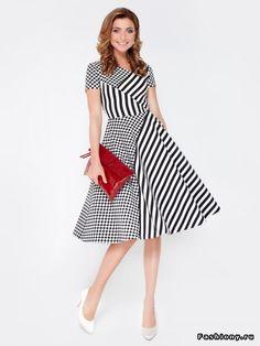 Черно-белая круизная коллекция бренда Olga Skazkina лето 2015