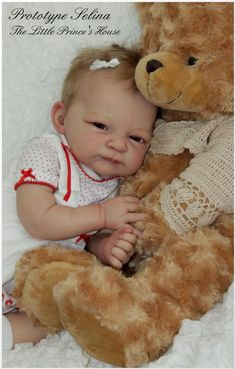 Selina by Linde Scherer - Online Store - City of Reborn Angels Supplier of Reborn Doll Kits and Supplies