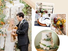 7 Hot Wedding Trends for Fall   Photo by: Clockwise from left: L Hewitt Photography; Matthew Moore Photography; Brittrene Photography; Emily Wren Photography   TheKnot.com