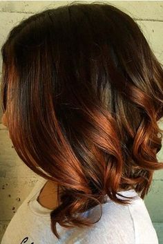 Balayage Highlights Brown Ombre picture 3
