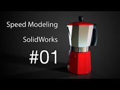 #01 Speed Modeling - Cafetera Italiana - YouTube