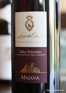 Leone de Castris Maiana Rosso Salice Salentino Red Wine