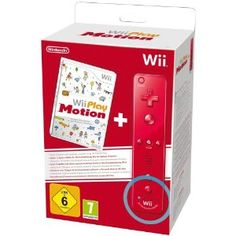 Nintendo Wii Play: Motion Plus Wii Remote - Red: Amazon.co.uk: PC & Video Games