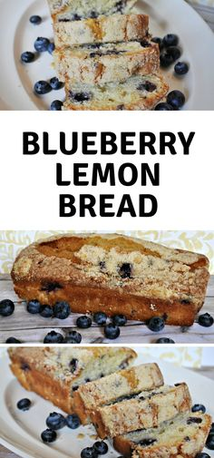This Easy Blueberry Lemon Bread Recipe will make you want to lick the bowl. The perfect dessert recipe or even a potluck treat. #blueberry #FrugalNavyWife #lemonbread #blueberrybread