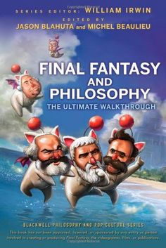Final Fantasy and Philosophy: The Ultimate Walkthrough by Jason P. Blahuta http://www.amazon.com/dp/0470415363/ref=cm_sw_r_pi_dp_R1CPub0VBSJKN