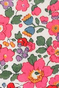 Liberty Print - the colours and boldness of the print is wonderful