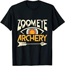 Zoom Eye Archery- Bogenschießen Zielscheibe  Pfeil und Bogen T-Shirt