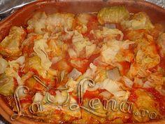 Sarmale in vas roman - Pas 8 Pasta, Roman, Cabbage, Vegetables, Cooking, Food, Kitchen, Essen, Cabbages